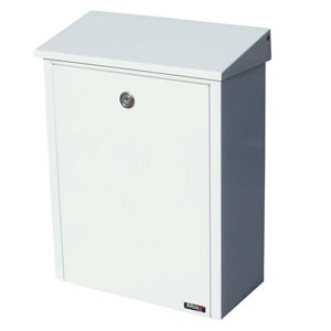 Allux Series White Mailboxes Allux 200