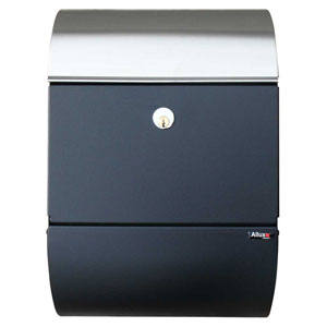 Allux Series Black with Steel Mailboxes Allux 3000