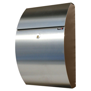 Allux Series Black and Stainless Steel Mailboxes Allux 7000