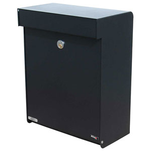 Allux Series Black Mailboxes Grandform
