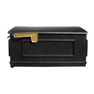 Lewiston Black Mailbox