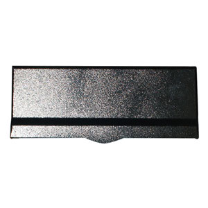 Letta safe Black Wall Mount Letterplate