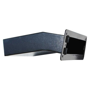 Letta safe Black Wall Mount Mail Drop Chute