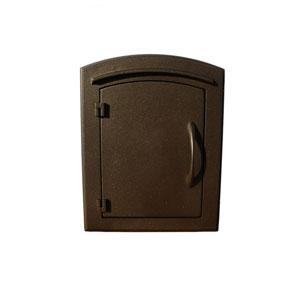 Manchester Bronze Non-Locking Column Mount Mailbox