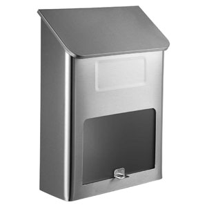 Metros Mailbox Stainless Steel with Window