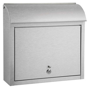 Compton Locking Mailbox Stainless Steel