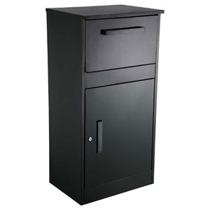 Parcel Defender Locking Parcel and Mailbox Black