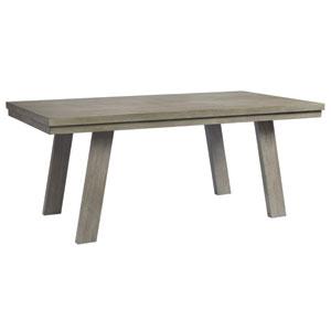 Venice Grey Rectangular Fixed Top Dining Table