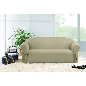 Linen Cotton Duck Sofa Slipcover
