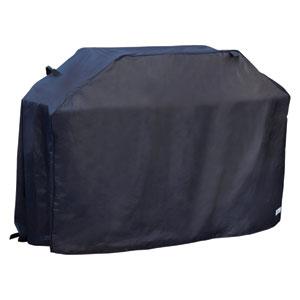 Premium 60-Inch Black Grill Cover