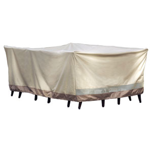 Heavy Duty Taupe with Olive Green Oversized Multi Purpose Cover