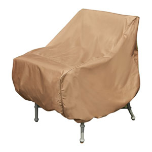 Earth Brown Patio Armor XL Chair Cover