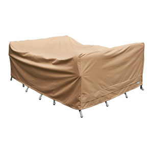 Earth Brown Patio Armor Chat Set Cover