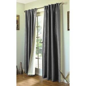 Ming Grey 84 x 104-Inch Lined Curtain Panel Pair