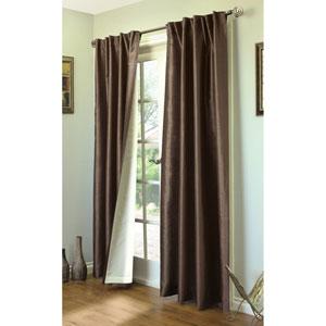 Ming Dark Chocolate 95 x 104-Inch Lined Curtain Panel Pair