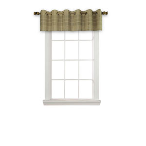 Driftwood 72-Inch x 12-Inch Bamboo Valance