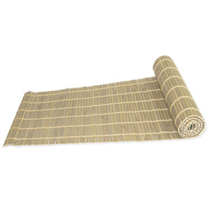 Driftwood 12 x 72-Inch Bamboo Table Runner