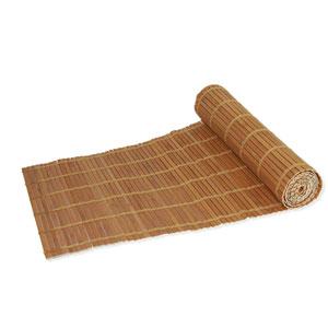 Teak 12 x 72-Inch Bamboo Table Runner