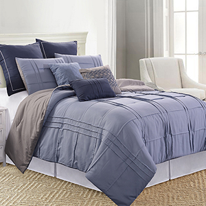 Allure Boxwood 8 Piece Queen Comforter Set