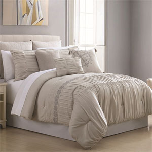 Allure Cosette 8 Piece Queen Comforter Set