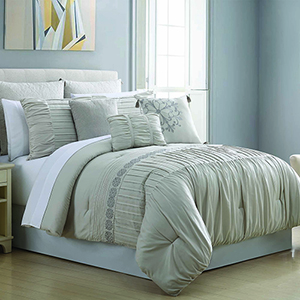Allure Cosette 8 Piece Queen Comforter Set