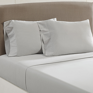 Aircloud Silver 4 Piece Cal King Sheets