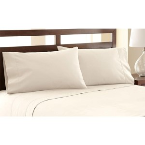 Symphony Ivory Four-Piece 1200 Thread Count King Sheet Set