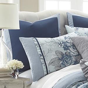 Floral Farmhouse Queen Eight-Piece Comforter Set