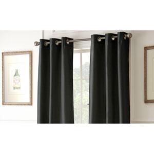 Shawn Noir 84 x 37-Inch Blackout Curtain Panel Pair