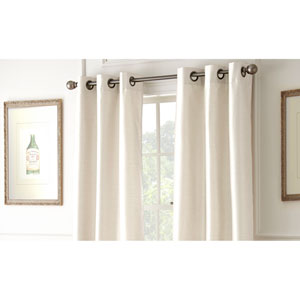 Shawn Ivory 84 x 37-Inch Blackout Curtain Panel Pair