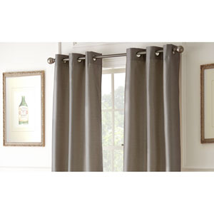 Shawn Mocha 84 x 37-Inch Blackout Curtain Panel Pair