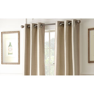 Shawn Taupe 84 x 37-Inch Blackout Curtain Panel Pair