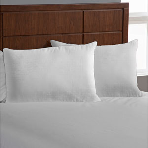 Tailor Fit White Downaire™ Jumbo Pillow Enhancer, Set of Two
