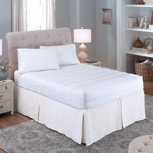 Luxury Loft Four-Sided Queen Mattress Pad