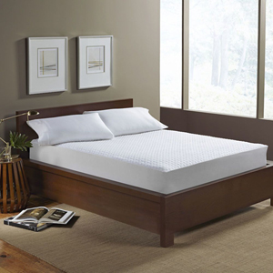 Aller-Free White Ultimate Comfort Knit Twin Mattress Protector