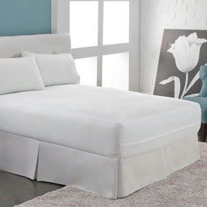 Aller-Free White Six-Sided Twin Mattress Encasement