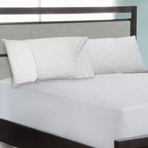 Quilted Jumbo Memory Foam Pillow
