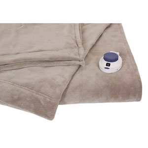 Luxe Plush Topaz King Warming Blanket