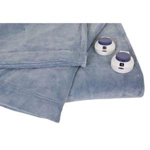 Luxe Plush Sapphire Twin Warming Blanket