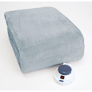 Luxe Plush Sapphire Warming Throw