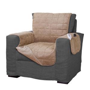 Tan Warming Chair Protector