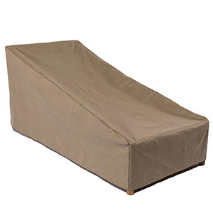 Essential Latte 86 In. Patio Chaise Lounge Cover