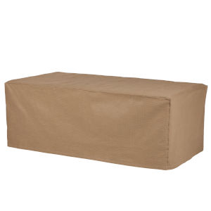 Essential Latte 47-Inch Rectangular Coffee Table Cover