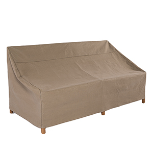 Essential Latte 54 In. Patio Loveseat Cover