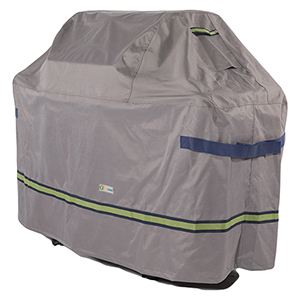 Soteria Grey RainProof 53 In. Grill Cover