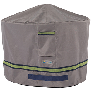 Soteria Grey RainProof 50 In. Round Fire Pit Cover