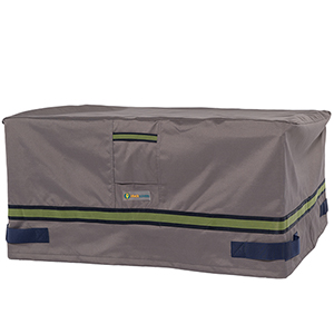 Soteria Grey RainProof 56 In. Rectangular Fire Pit Cover