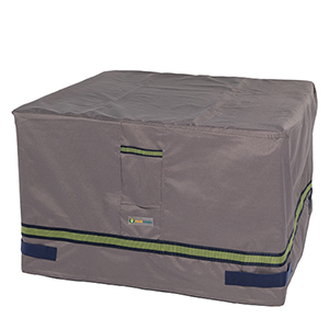 Soteria Grey RainProof 40 In. Square Fire Pit Cover