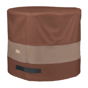 Ultimate Mocha Cappuccino 32-Inch Round Air Conditioner Cover