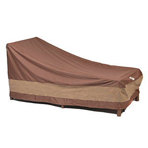 Ultimate Mocha Cappuccino 74 In. Patio Chaise Lounge Cover